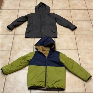 2 jackets 🧥 parka GAP kids winter spring s M 🧥
